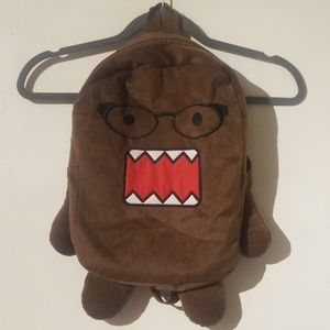 Hot Topic Nerdy Domo with Glasses Backpack